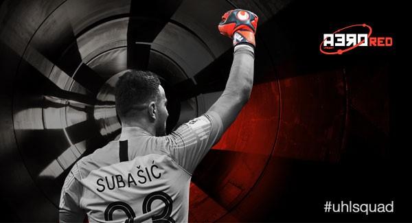 UHLSPORT AERORED SUPERSOFT Danijel Subasic