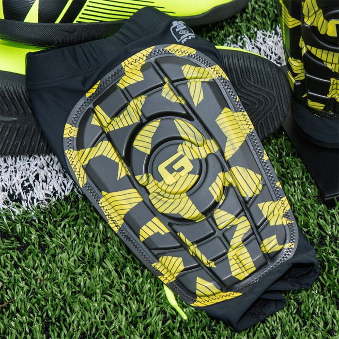G-FORM Pro-S Compact Neon Shin Guards