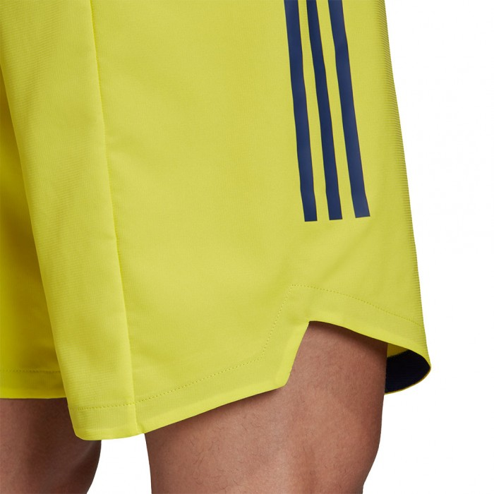 adidas CONDIVO 20 SHORT shock yellow/team navy blue