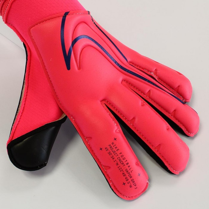 Nike Vapor Grip 3 PROMO GFX Goalkeeper Gloves Laser Crimson