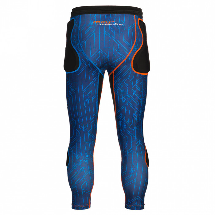 Reusch CS Padded 3/4 Goalkeeper Short blue/shock orange