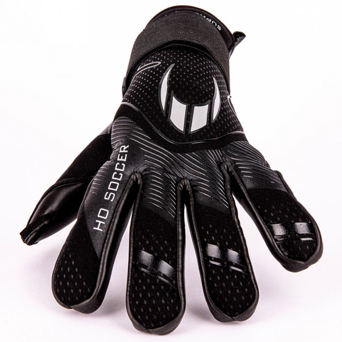HO SOCCER SUPREMO PRO NEGATIVE JUNIOR Goalkeeper Gloves Black