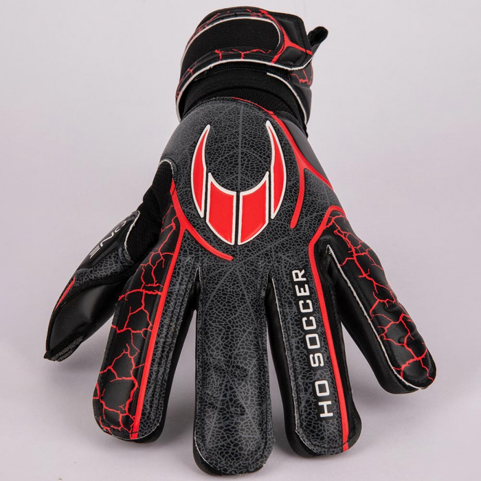 HO ONE NEGATIVE JUNIOR Goalkeeper Gloves Black/Red