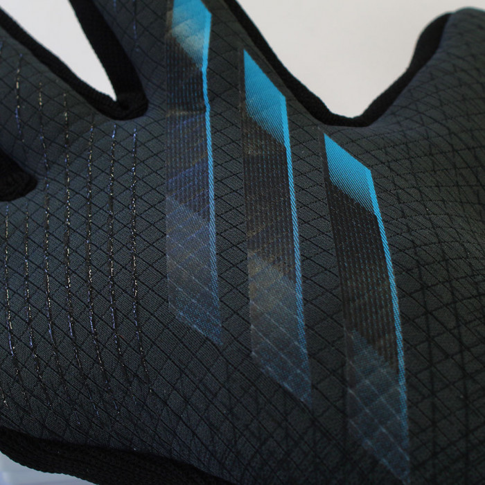 adidas X GL PRO JUNIOR Goalkeeper Gloves grey/black/cyan