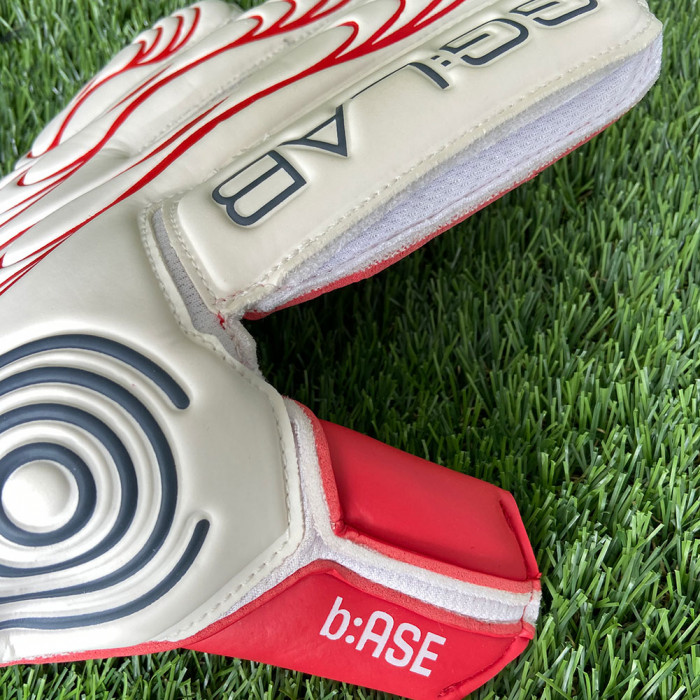 GG:LAB b:ASE (Astro) Goalkeeper Gloves White/Red