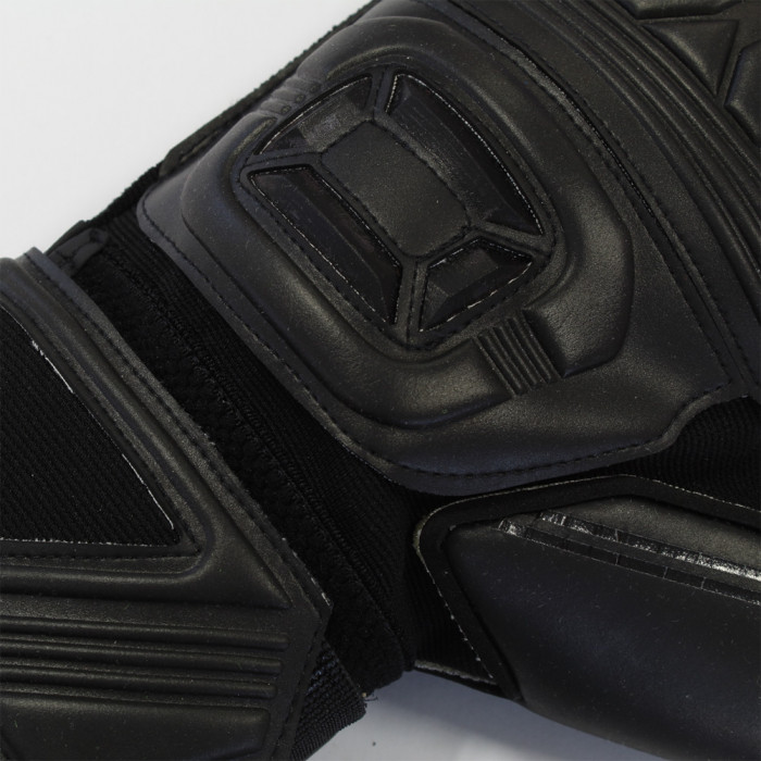 Stanno Ultimate Grip II Black Ltd. Roll Finger Goalkeeper Gloves
