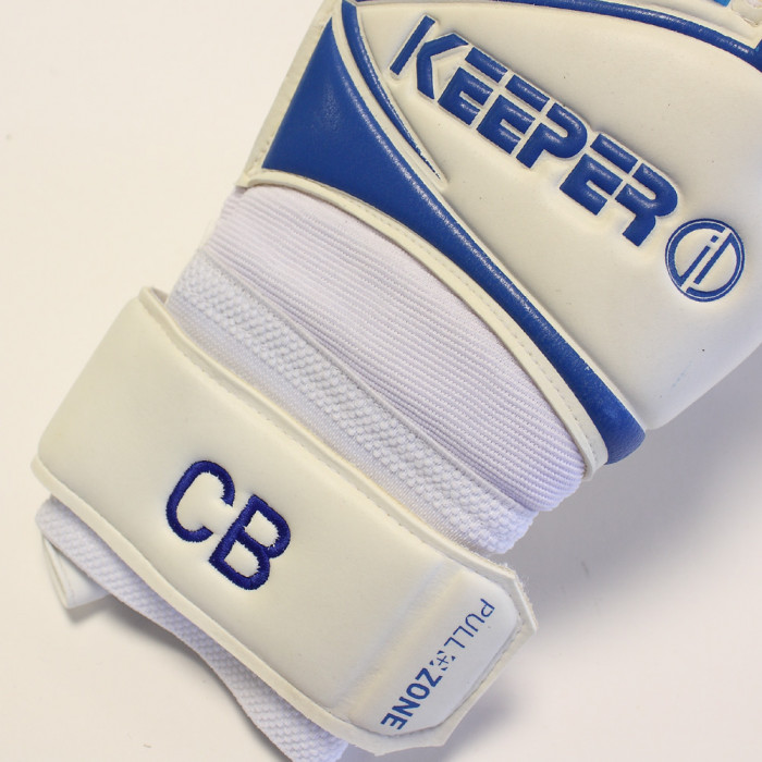 Keeper ID Goalproof FingerSAFE Roll Finger Goalkeeper Gloves