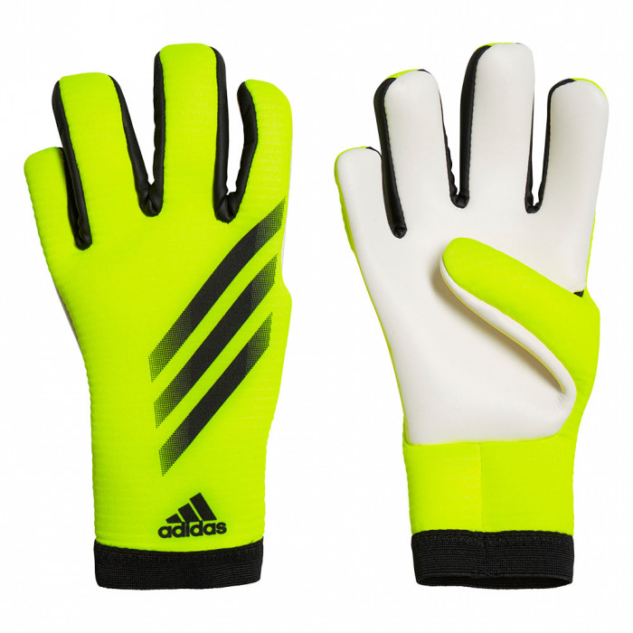 adidas X GL Training Junior Goalkeeper Gloves solar yellow/black