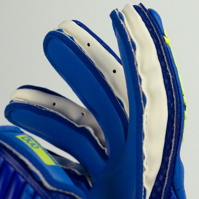 Reusch Attrakt Duo Goalkeeper Gloves deep blue / saftey yellow