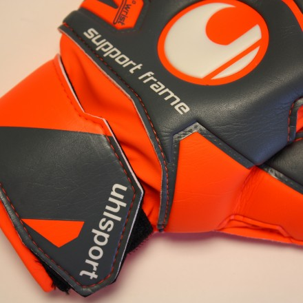 UHLSPORT AERORED SOFT SUPPORTFRAME JUNIOR Goalkeeper Gloves