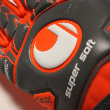 UHLSPORT AERORED SUPERSOFT HN Goalkeeper Gloves