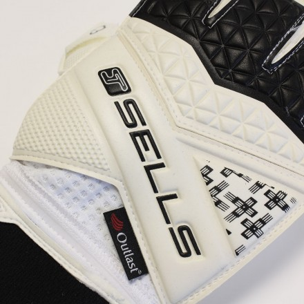 SELLS WRAP ELITE AQUA CAMPIONE JUNIOR Goalkeeper Gloves