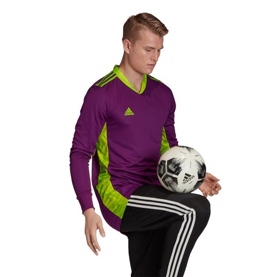 adidas ADIPRO 20 GoalKeeper Jersey glory purple/team semi sol green