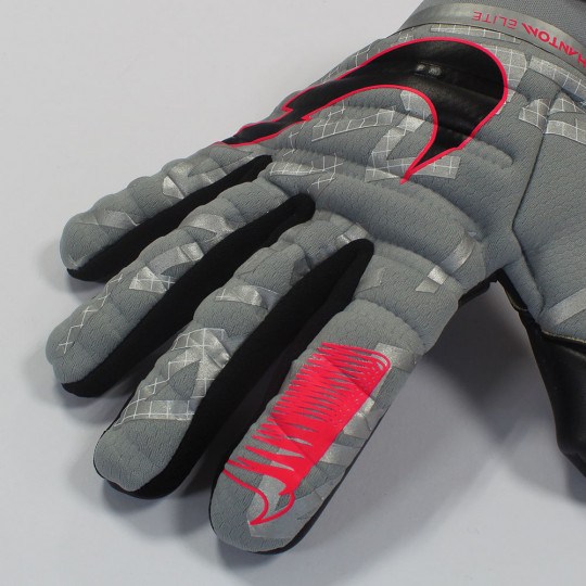 Nike PHANTOM ELITE Goalkeeper Gloves Neighbourhood Pack Particle Grey/