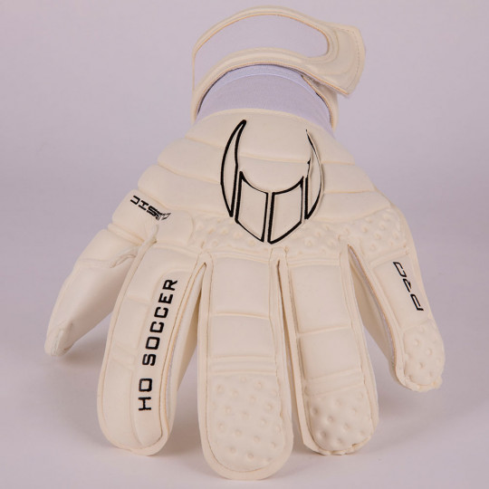HO SOCCER CLASSIC PRO ROLL Goalkeeper Gloves White