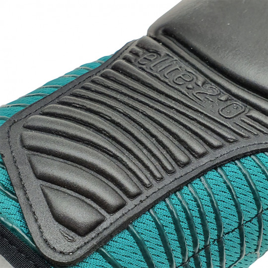 Precision GK Elite 2.0 Contact Junior Goalkeeper Gloves Teal/Fluo Oran