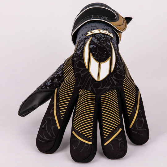 HO Soccer First Superlight Black Legend Junior Goalkeeper Gloves