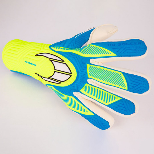 HO Soccer Phenomenon TX200 Negative Junior Goalkeeper Gloves Fluo Yell
