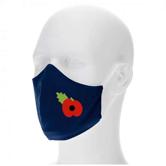 Personalised Face Mask/Covering Junior navy