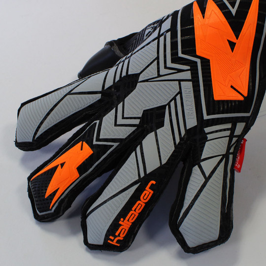 Kaliaaer XLR8aer PWRlite FLARE Junior Goalkeeper Gloves Black/Fluo Ora