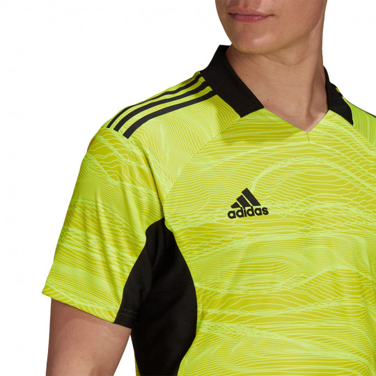 GF3587 adidas CONDIVO 21 GoalKeeper Jersey SS acid yellow
