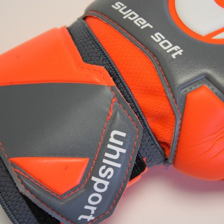 UHLSPORT AERORED SUPERSOFT Goalkeeper Gloves