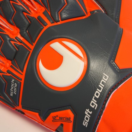 UHLSPORT AERORED SOFT PRO Goalkeeper Gloves