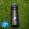 FREE HO Soccer aluminium water bottle included!