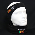 Shown with Keeper ID Neck Warmer Football Snood (Both Embroidered)