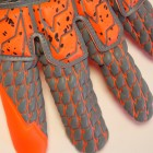 101105002 UHLSPORT AERORED SUPERGRIP RELFEX Goalkeeper Gloves