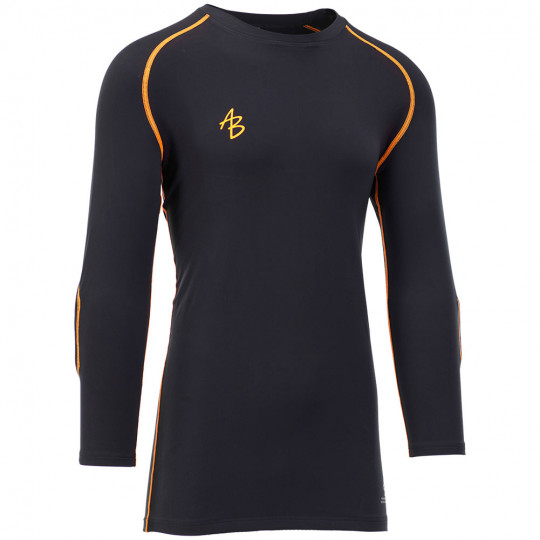 AB1 ACCADEMIA PADDED BASE LAYER 3/4 SLEEVE TOP JR