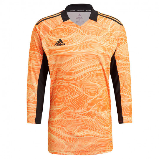 GJ7700 adidas CONDIVO 21 GoalKeeper Jersey LS acid orange - Just ...