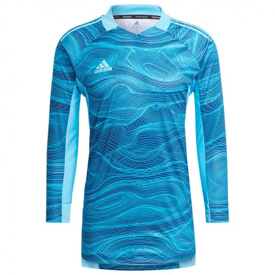 GT8418 adidas CONDIVO 21 GoalKeeper Jersey LS bold aqua - Just Keepers