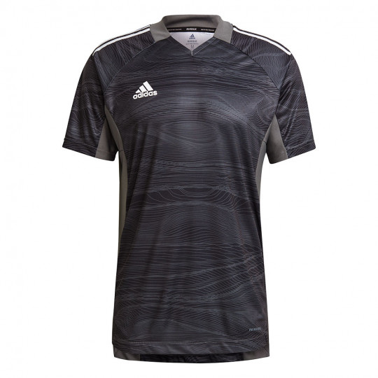 GT8427 adidas CONDIVO 21 GoalKeeper Jersey SS Black - Just Keepers