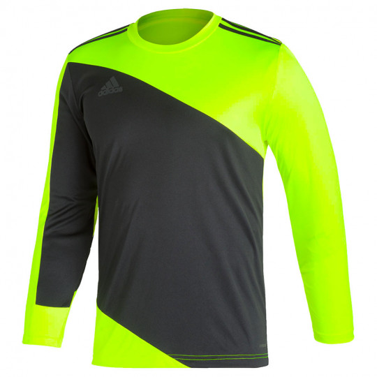 GN5795 adidas SQUAD 21 GoalKeeper Jersey solar yellow/black - Just ...