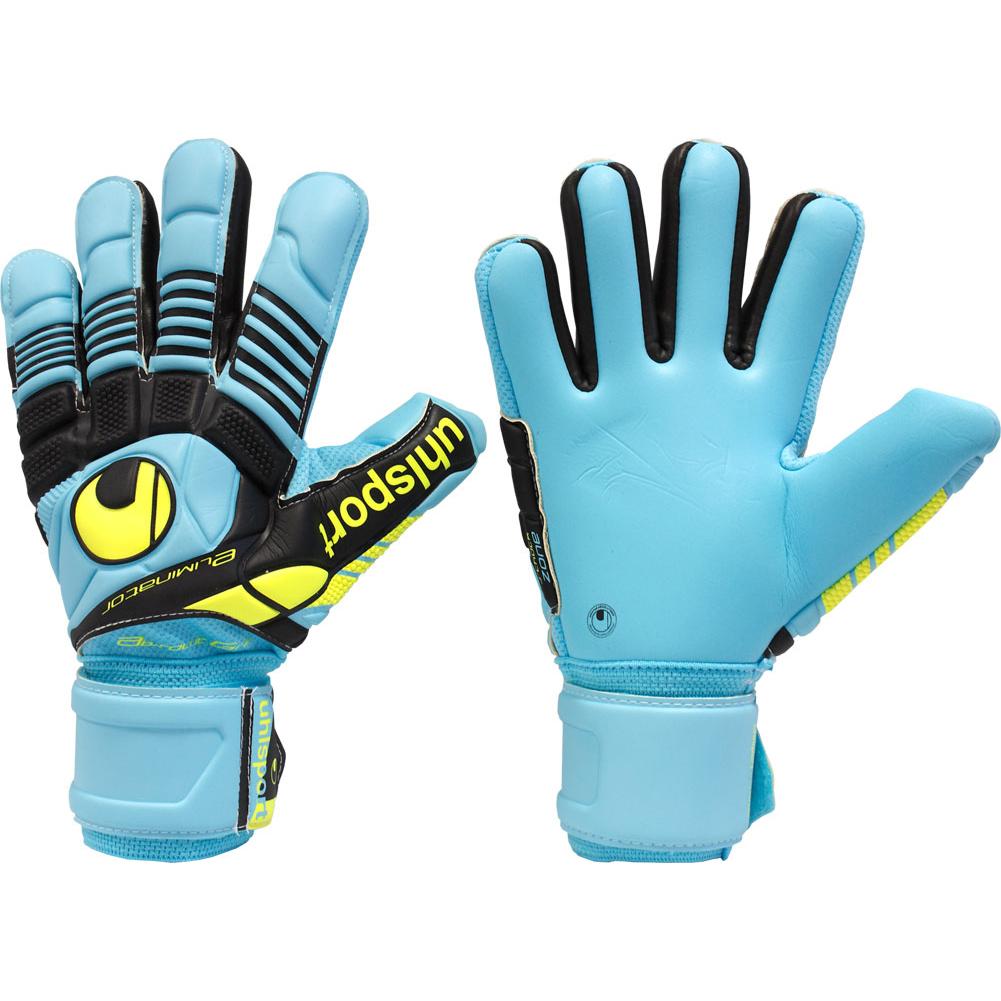 UHLSPORT ELIMINATOR ABSOLUTGRIP HN Goalkeeper Gloves Size. click image to  enlarge cb68a3a5d