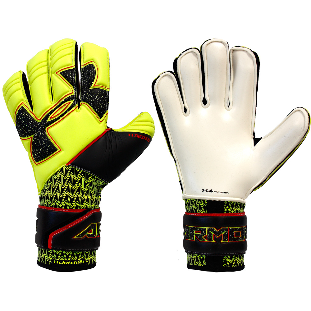 under armour soccer gloves