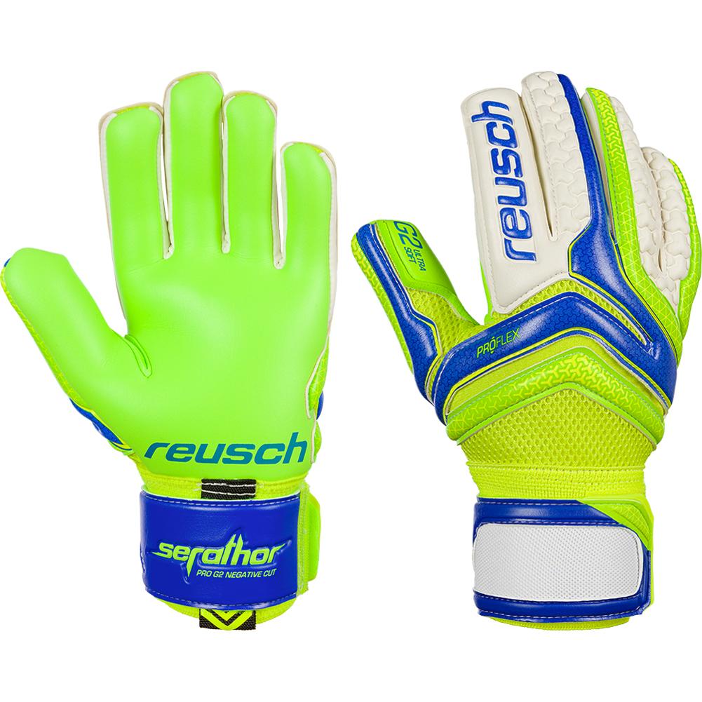 Details about Reusch Serathor Pro G2 Negative Cut Goalkeeper Gloves Size 77a72cd355