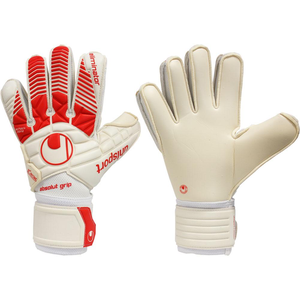 Rebel Sport Keeper Gloves: UHLSPORT ELIMINATOR ABSOLUTGRIP