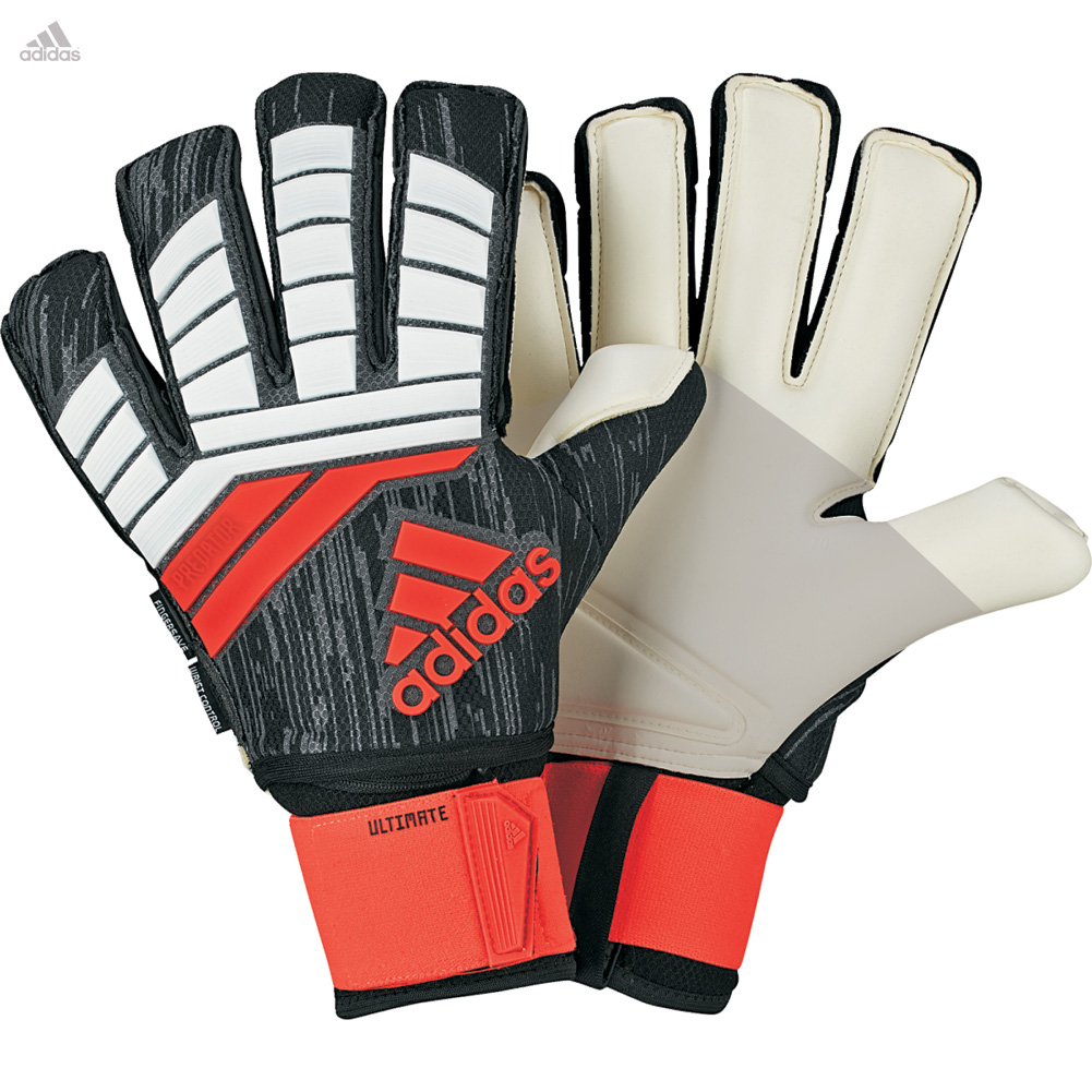 Details about adidas PREDATOR FINGERSAVE ULTIMATE Goalkeeper Gloves Size f787086c2