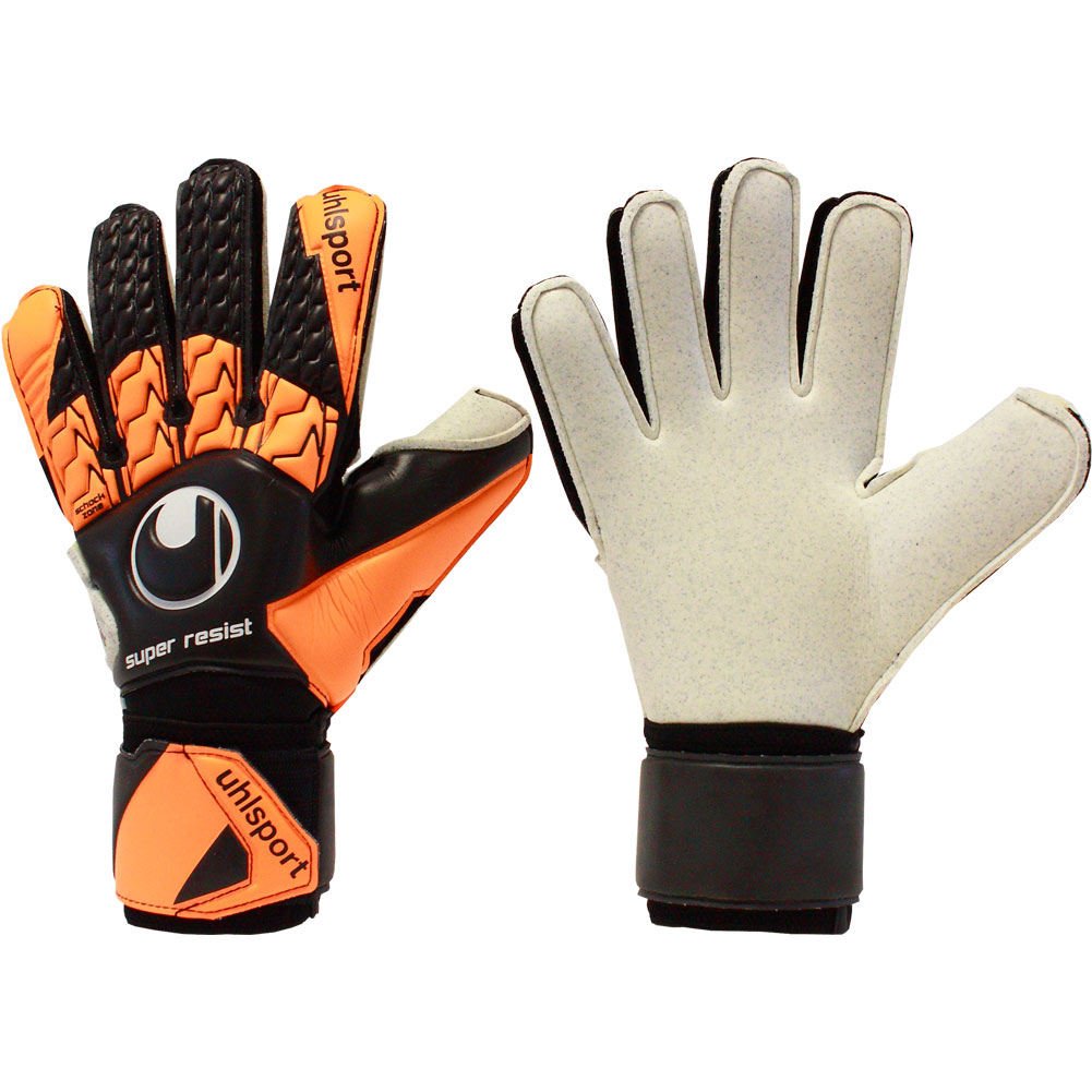 Rebel Sport Keeper Gloves: UHLSPORT SUPER RESIST