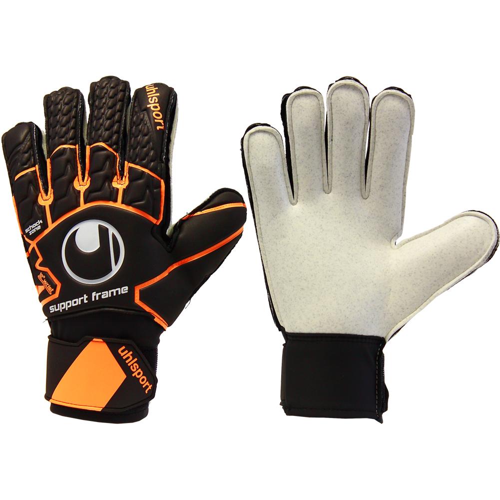 Rebel Sport Keeper Gloves: UHLSPORT SOFT RESIST SUPPORTFRAME JUNIOR