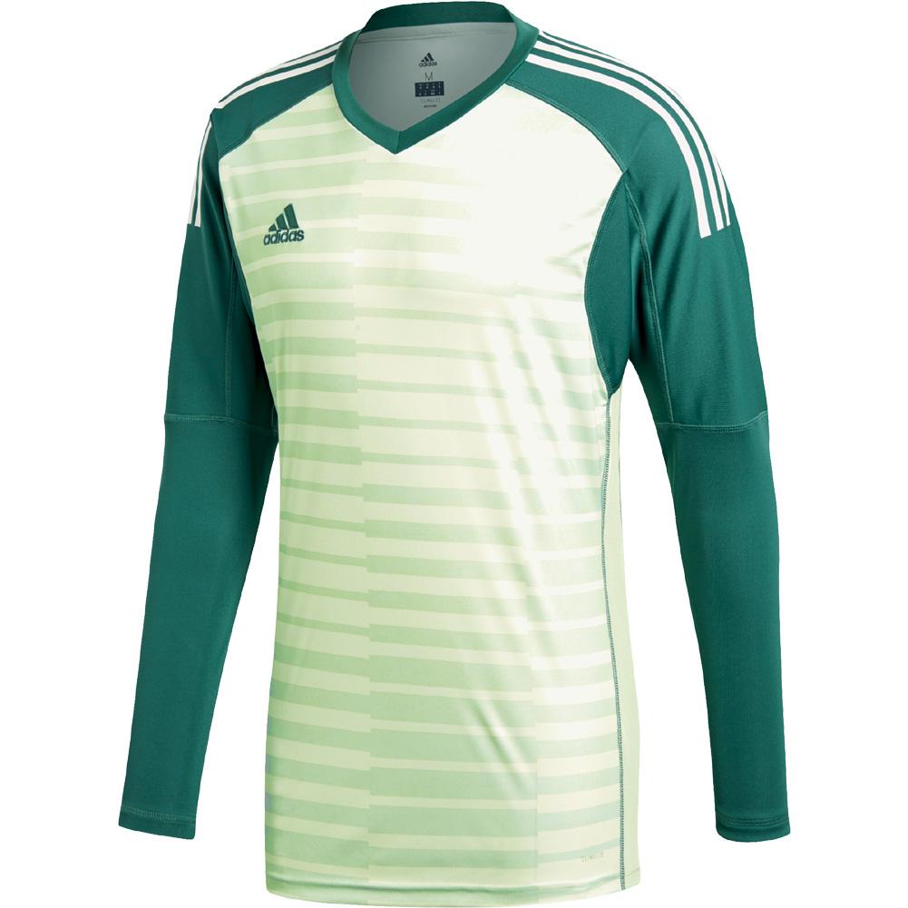 f9b1db6e8 adidas ADIPRO 18 GoalKeeper Jersey Size S TECFOR AERGRN OWHITE. click image  to enlarge