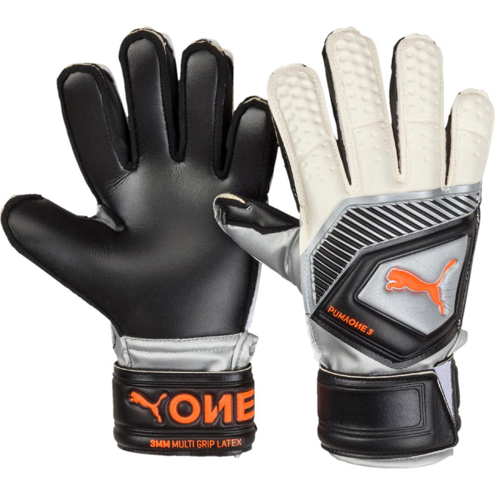 dde3712fd764 Details about Puma One Protect 3 Junior Goalkeeper Gloves