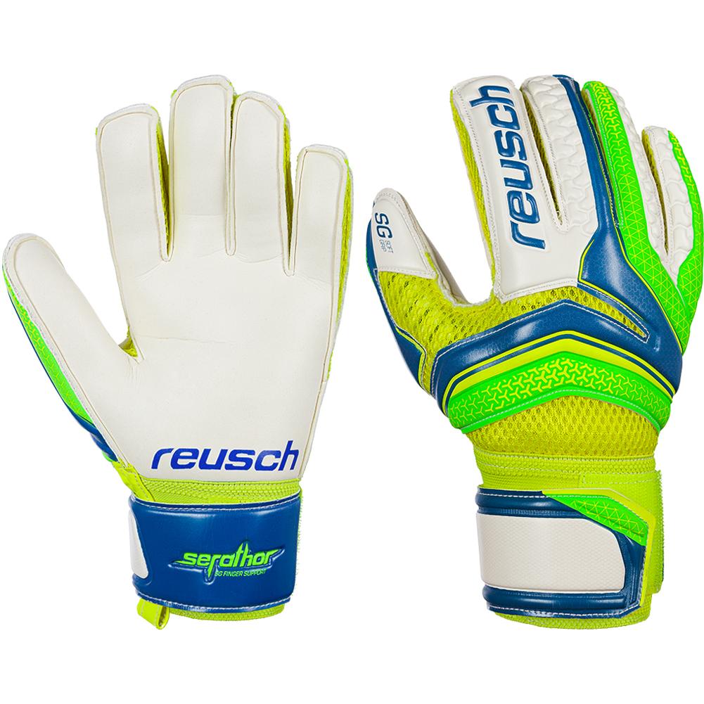 Details about Reusch Serathor SG Finger Support Goalkeeper Gloves Size b79b232a0