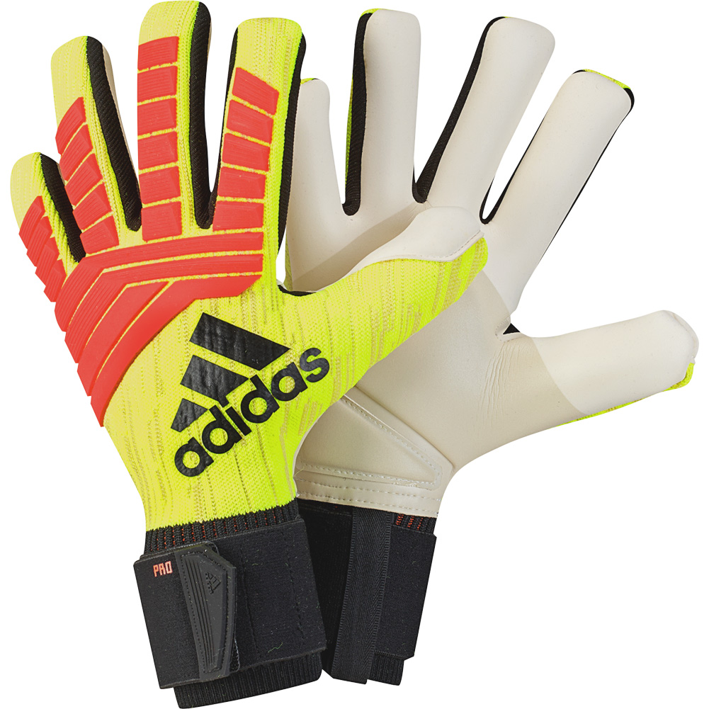 Details about adidas PREDATOR PRO WORLD CUP 2018 Goalkeeper Gloves Size 63773dadc