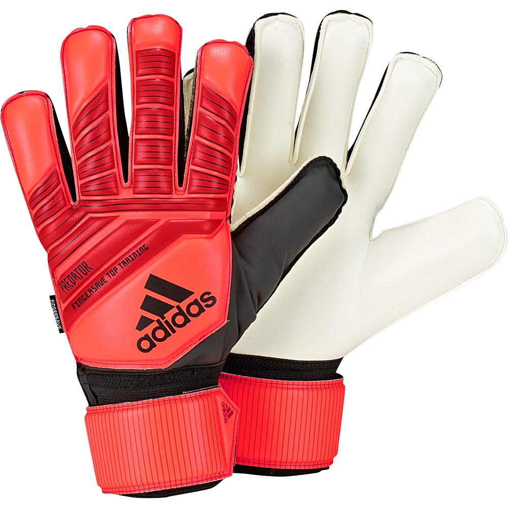 premium selection c39fb cfa5f Details about adidas PREDATOR TOP TRAINING FINGERSAVE Goalkeeper Gloves Size