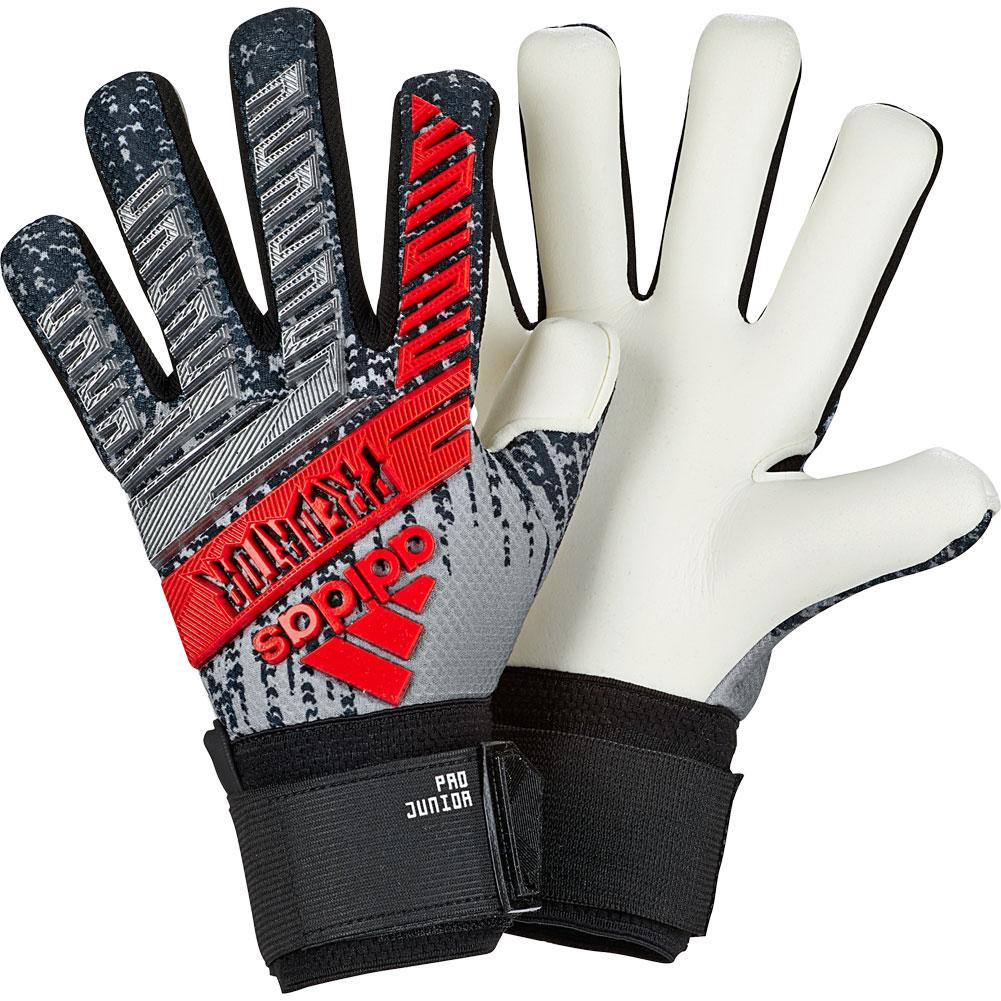 adidas Goalkeeper Gloves Predator Hybrid Team Mode - Black ... |Goalkeeper Gloves Adidas 2015