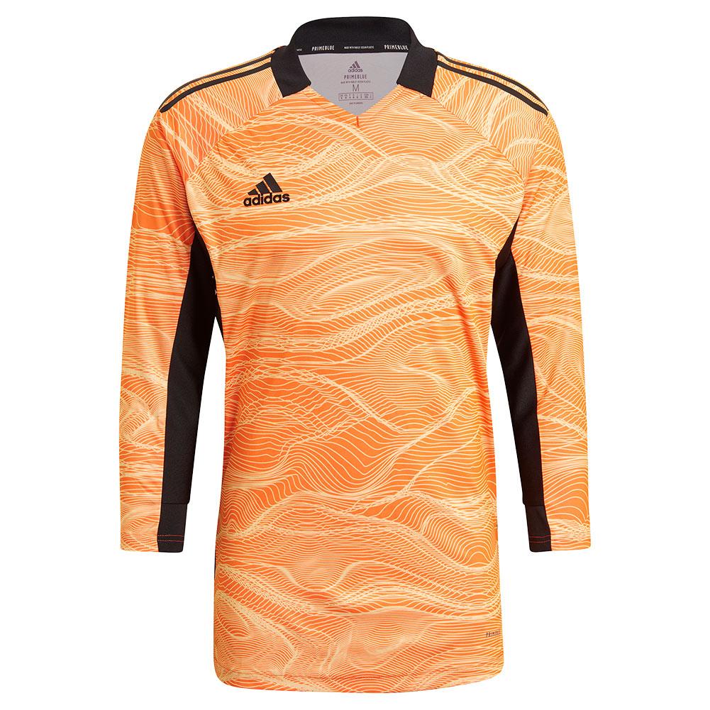 GJ7700 adidas CONDIVO 21 GoalKeeper Jersey LS acid orange - Just Keepers