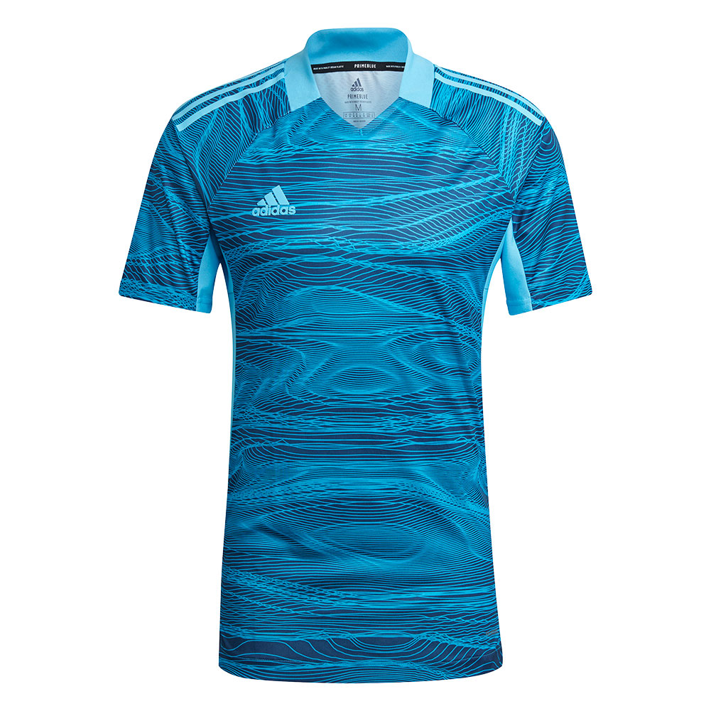 GT8426 adidas CONDIVO 21 GoalKeeper Jersey SS bold aqua - Just Keepers